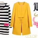 Idee per indossare un cappotto giallo
