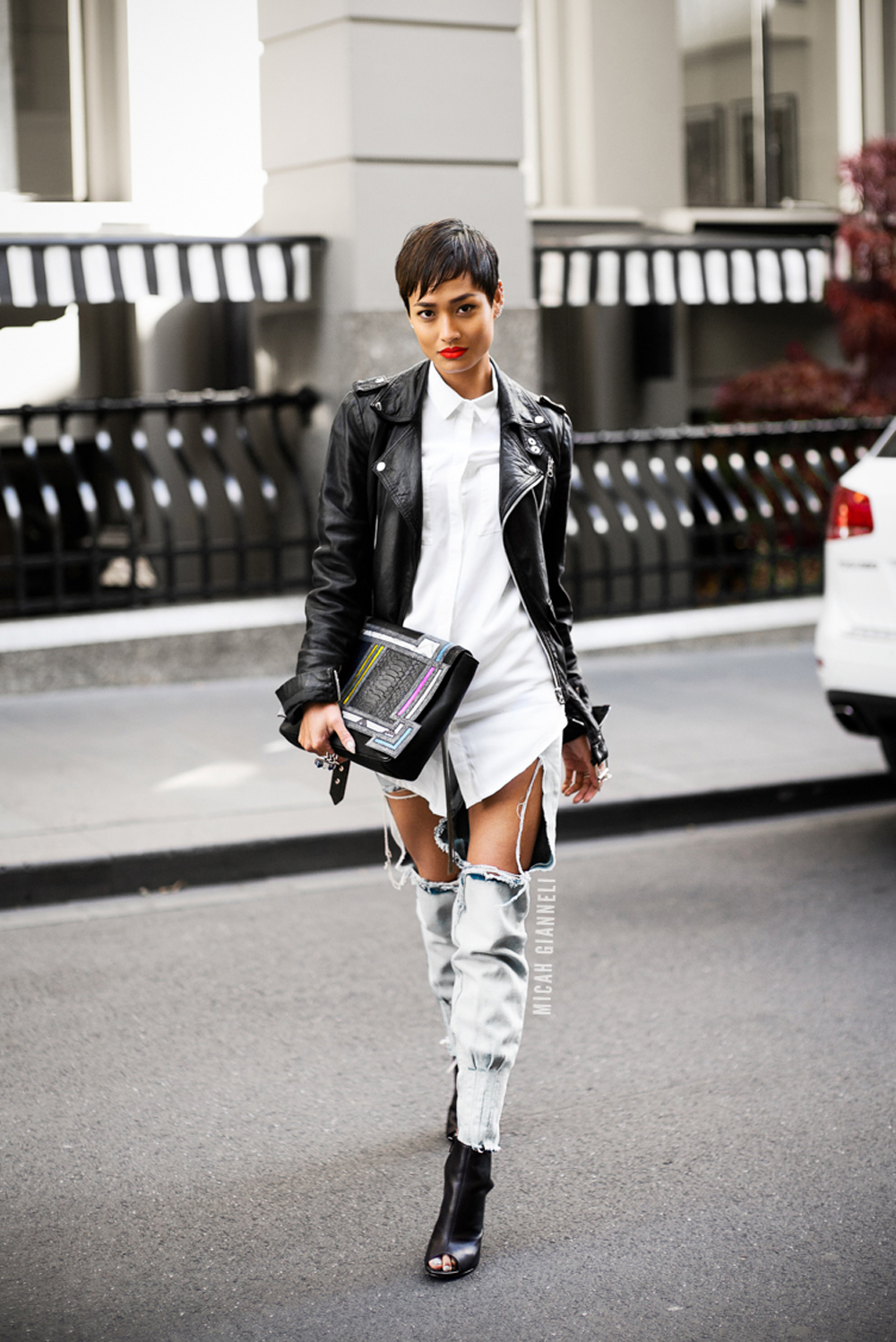 come indossare i jeans strappati | blogger | outfit
