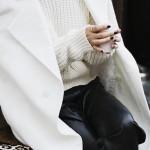Cappotto bianco: come abbinarlo per un outfit invernale