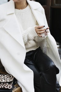 cappotto bianco | idee look