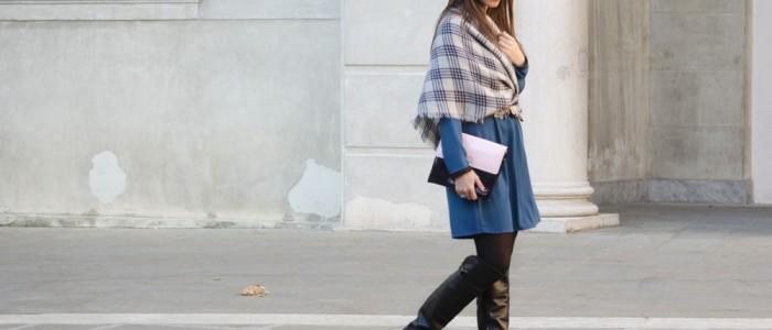 come indossare la sciarpa in maniera alternativa | sciarpa zara