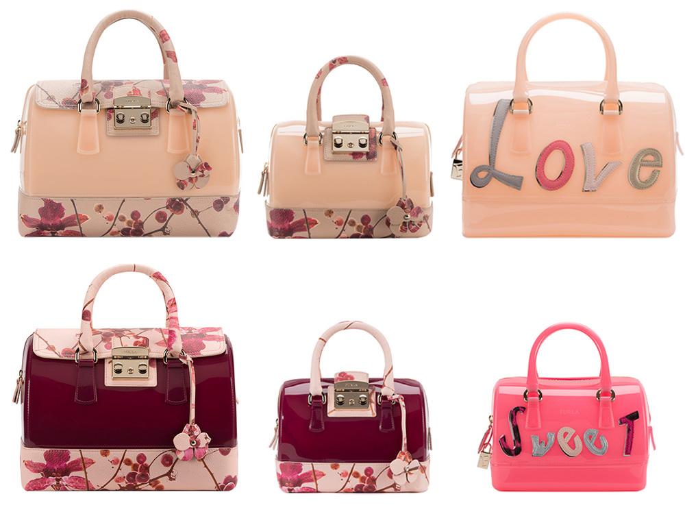 Borse Rosse Primavera Estate 2015 : Candy bag furla le borse per la primavera estate