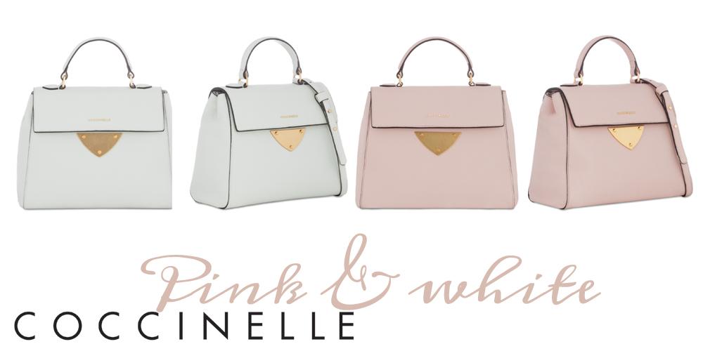 Borse Coccinelle Primavera 2016 : Coccinelle bags for spring pastel tones or cartoon style
