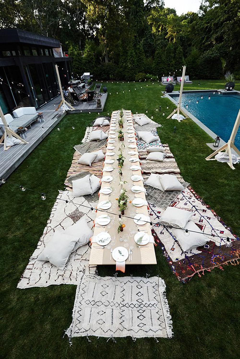 Il Pool Party Pi Chic Tra Gelati E Biancheria Caleffi