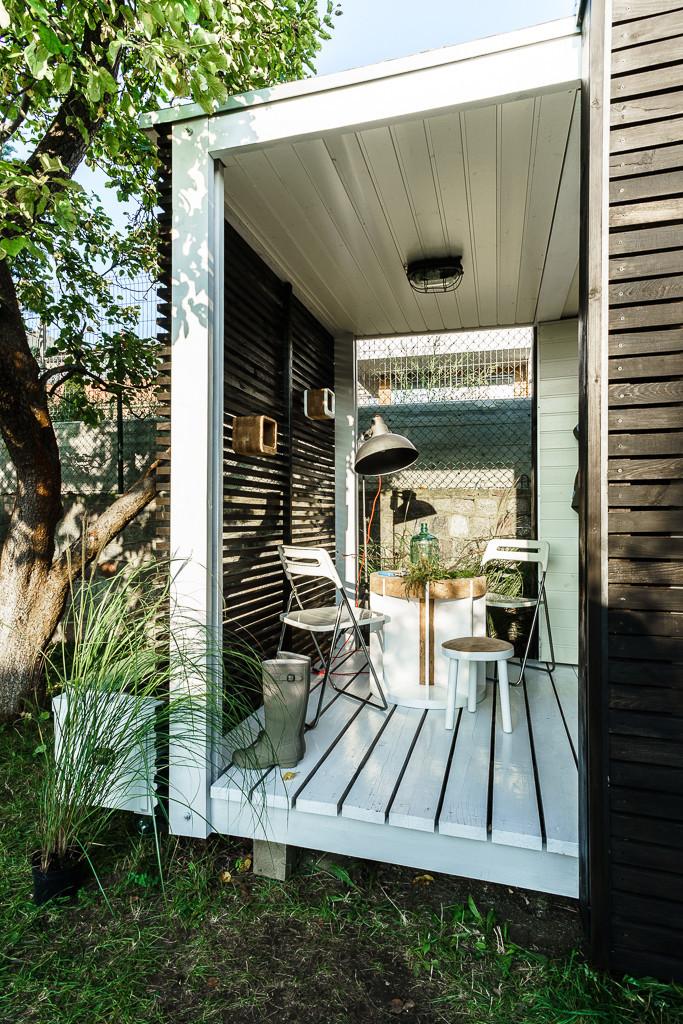 Tende da balcone fai da te design casa creativa e mobili for Arredare i giardini