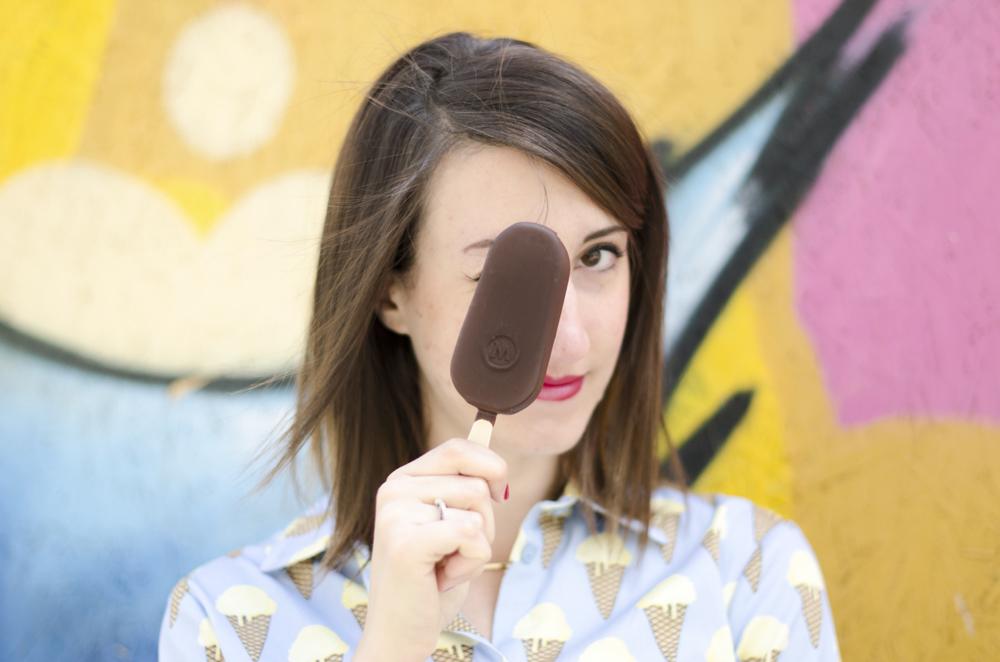 magnum black | stampa gelato