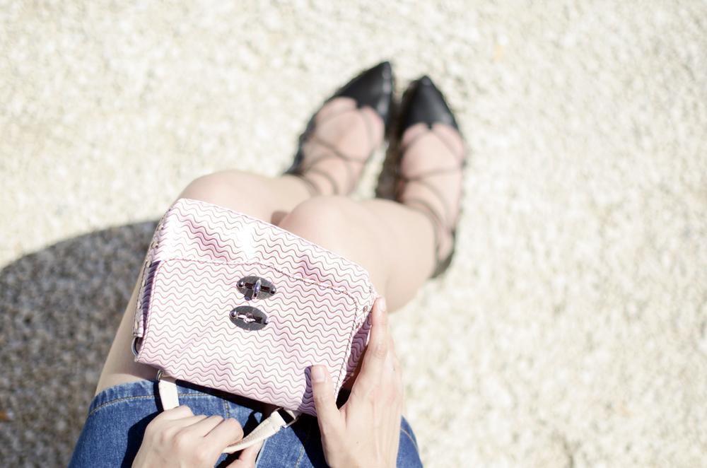 borsa rosa zanellato