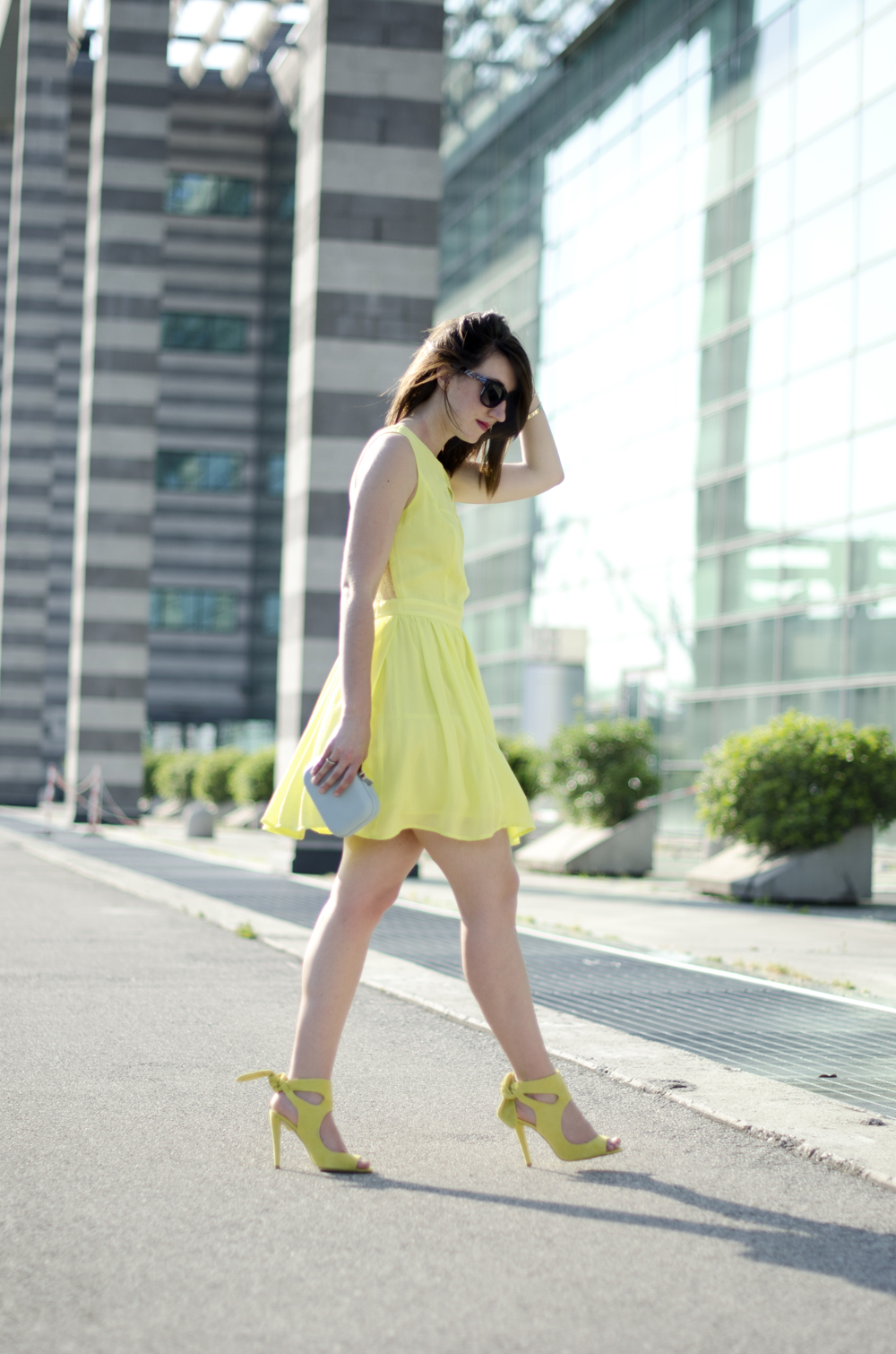 yellow outfit ideas | yellow dress |  when life gives you lemons | kokka dress