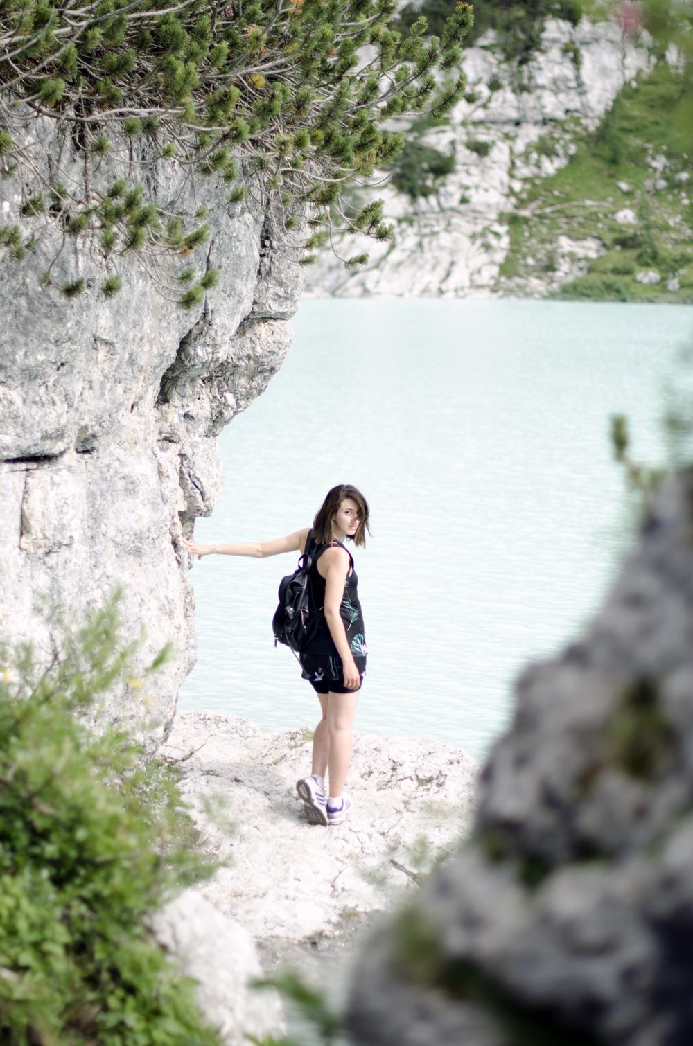 posti meravigliosi da vedere in italia | dolomiti | lago sorapis | abbigliamento sportivo oysho