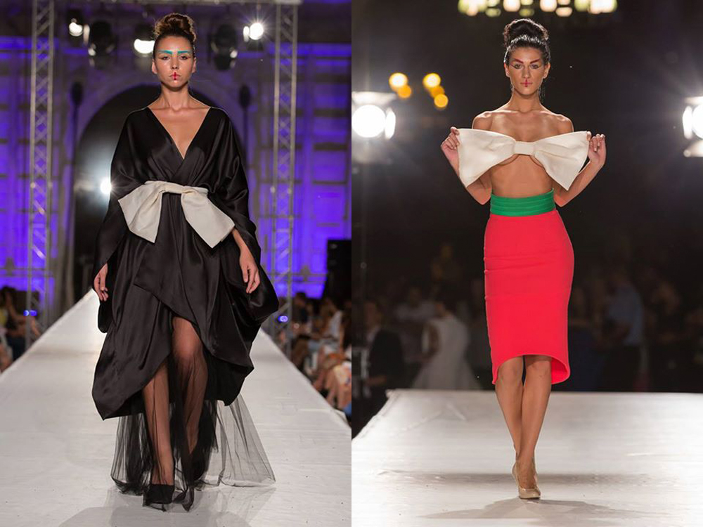 paola balzano sfilata 2015 feeric fashion days