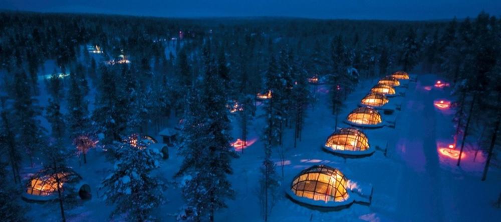 hotel igloo aurora boreale