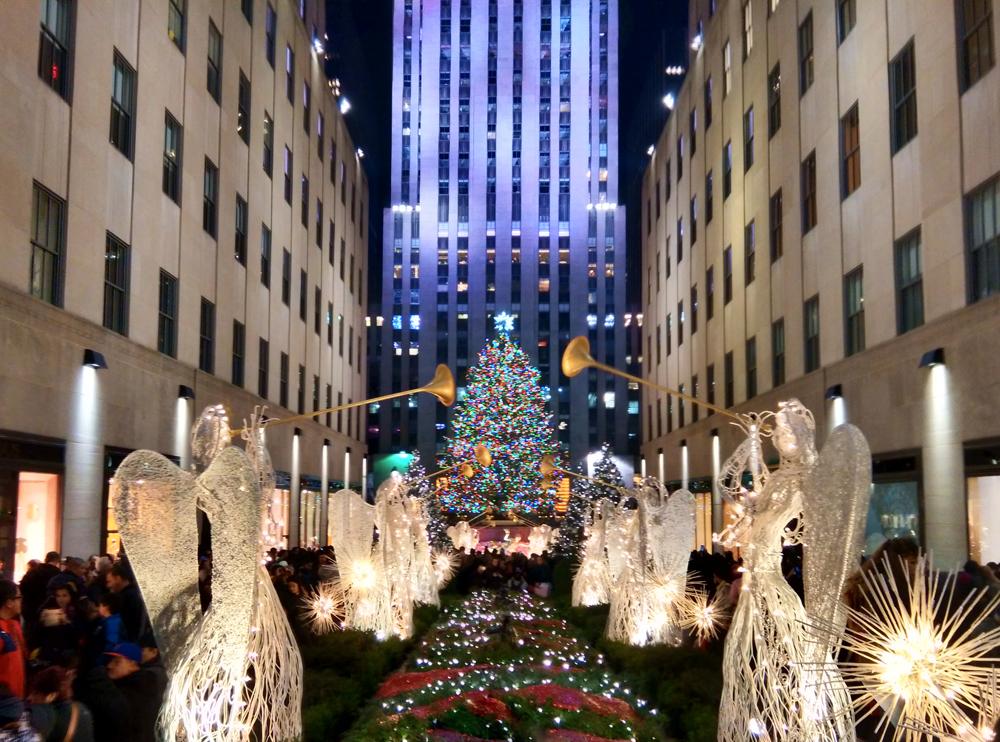 Albero Di Natale New York.L Albero Di Natale A New York Disegni Di Natale 2019