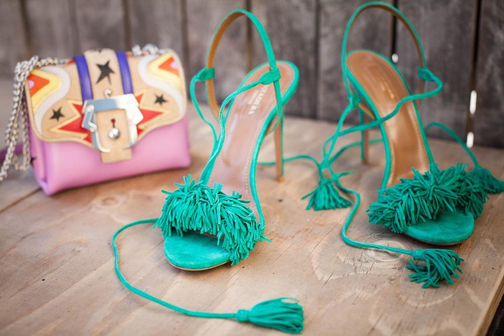 borsa paula cademartori   sandali con lacci