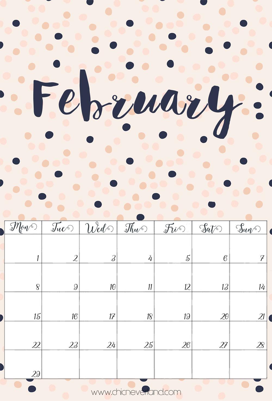 Favorito Calendario 2016 stampabile gratuito: Gennaio e Febbraio SR39