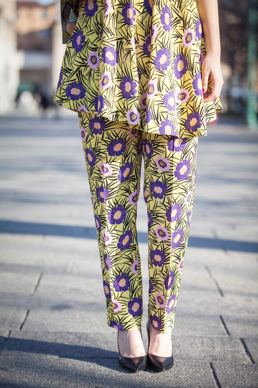 completo stampato   moda primavera 2016   outfit primaverili