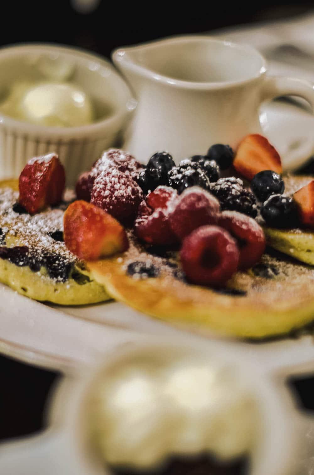 mangiare a new york pancakes