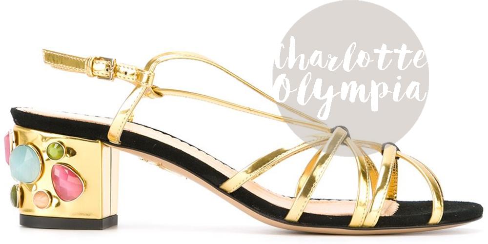 sandali tacco grosso | sandali charlotte olympia