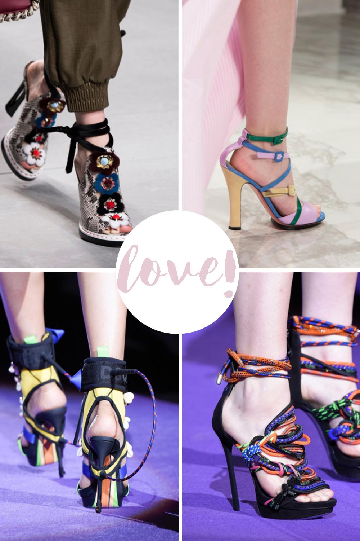 scarpe di moda adesso | tipi di scarpe | sandali 2016