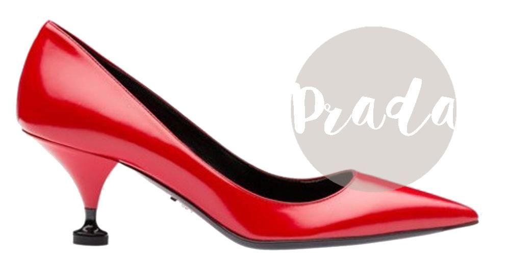 scarpe rosse prada 2016