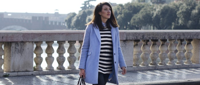 look donna | outfit a righe