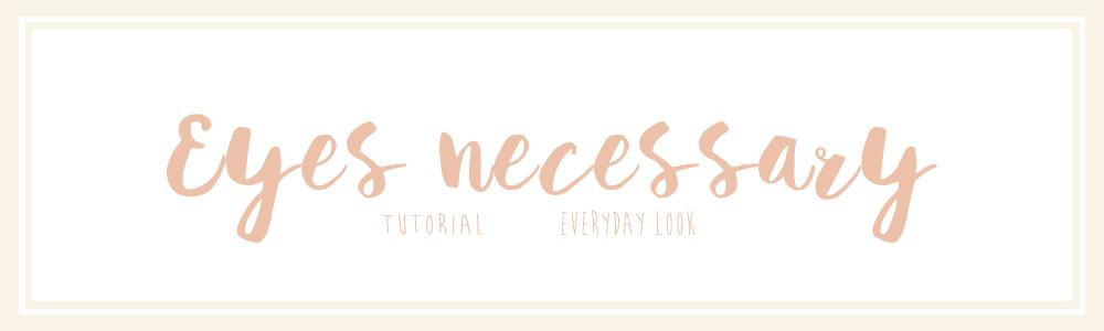prodotti necessari per un make up occhi da tutti i giorni