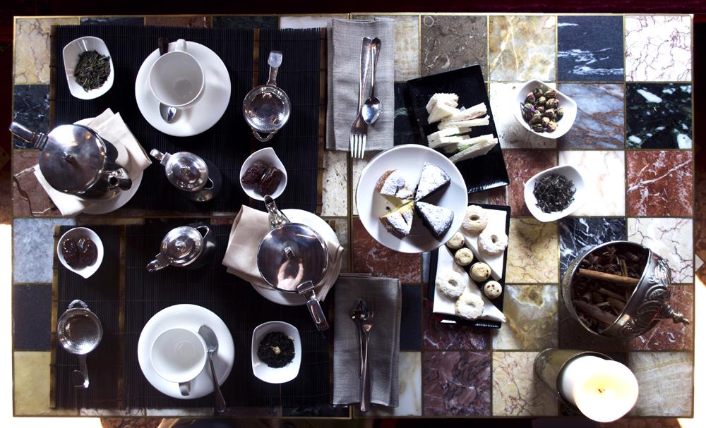 rito del te presso l'Hotel Metropole a Venezia