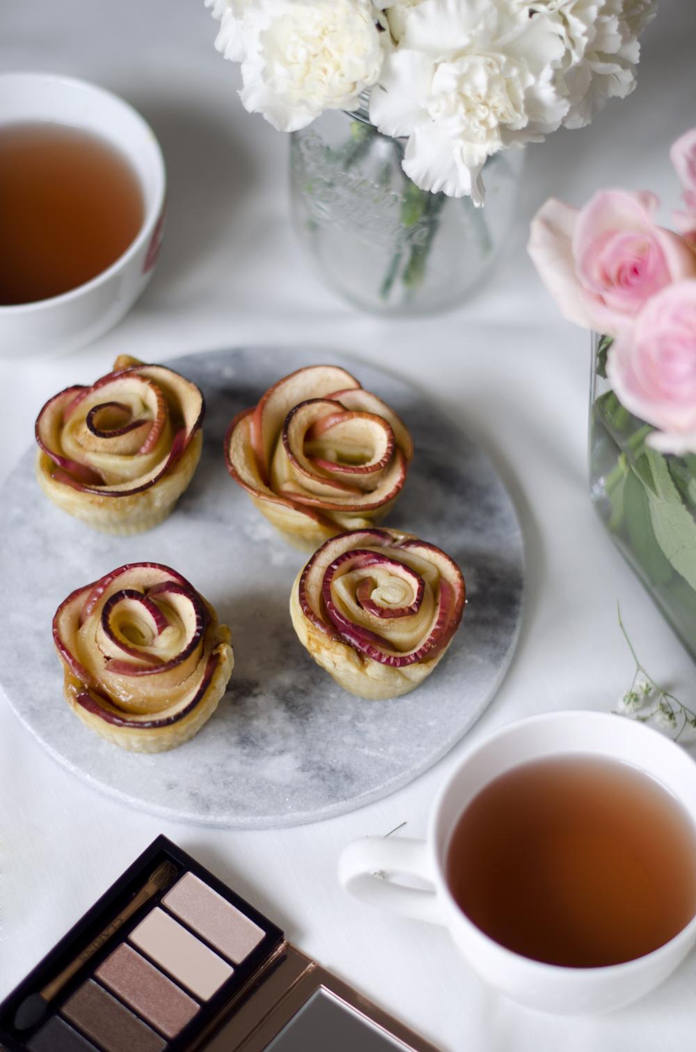 come preparare le roselline di mele e pasta sfoglia