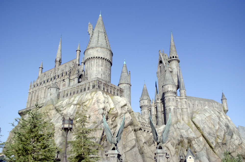 castello hogwarts a los angels | attrazioni harry potter