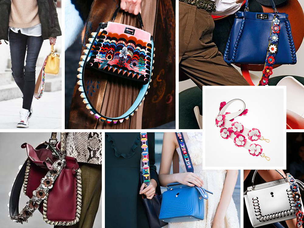E Prada tracolle IntercambiabiliDa It Fendi Decorate Alle TKJuFcl13