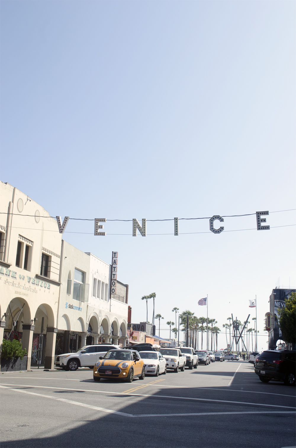 venice beach itinerario california