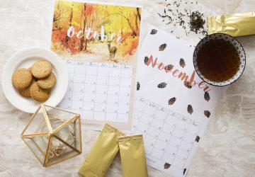 Scarica e stampa i calendari (gratuiti) di Ottobre e Novembre 2016