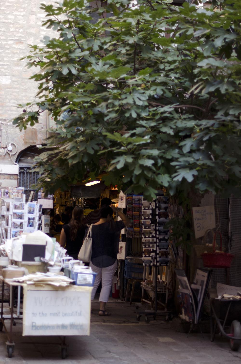 la libreria acqua alta è una delle cose uniche da vedere a venezia