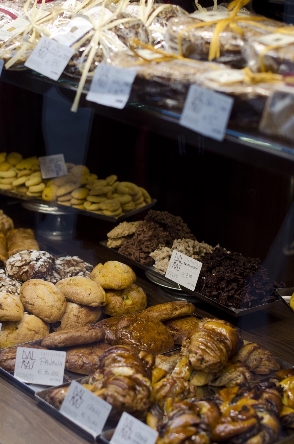 colazione a venezia in pasticceria Dal Mas vicino alla stazione