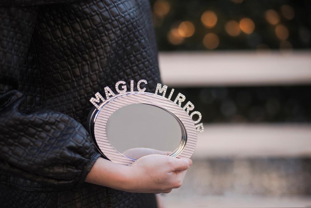 borsa per le feste di benedetta bruzziches modello mirror