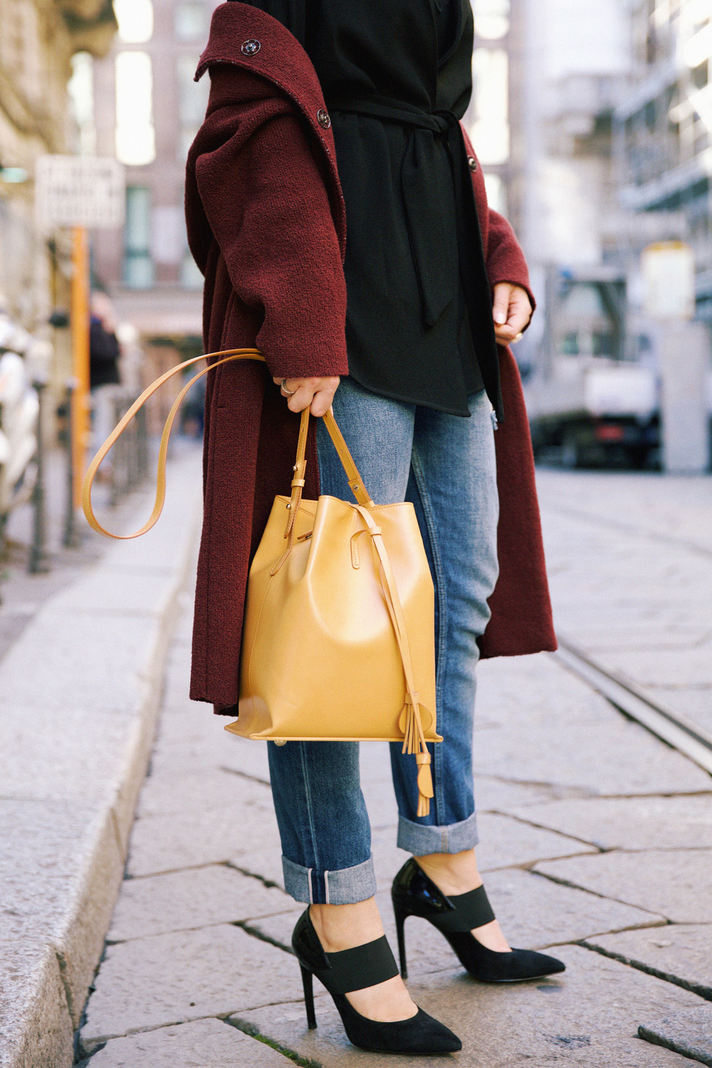 outfit chic invernale