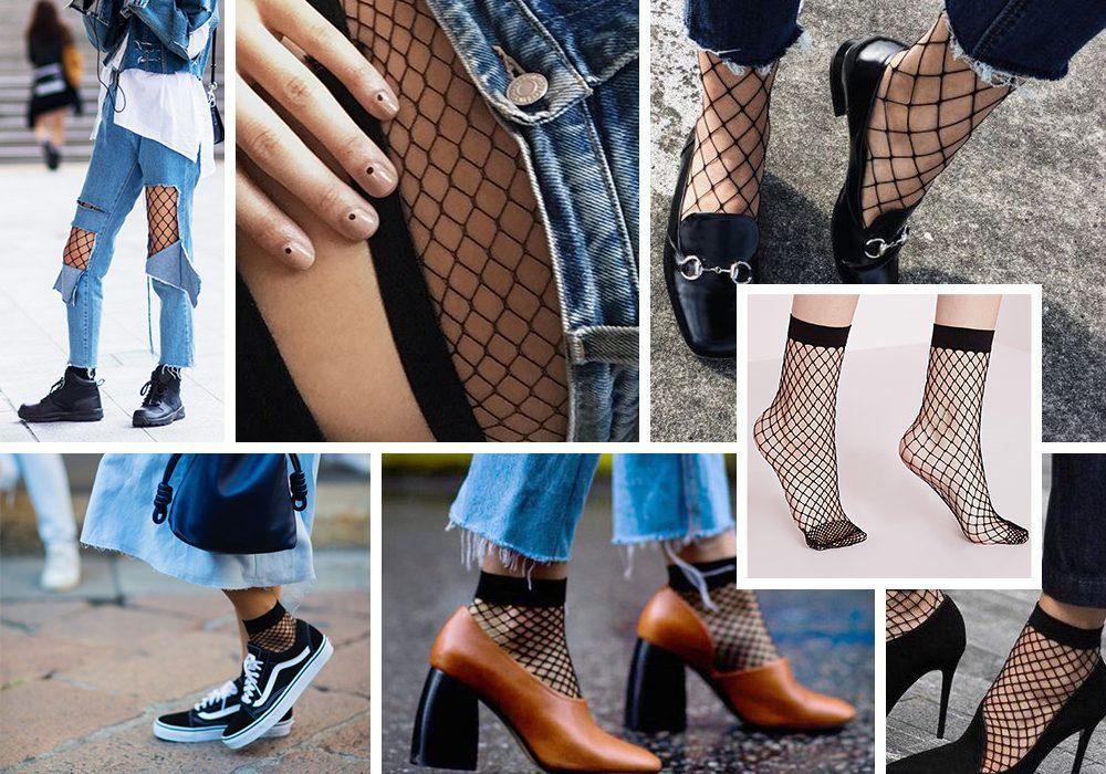 Come indossare calzini e calze a rete: abbinamenti perfetti dallo street style