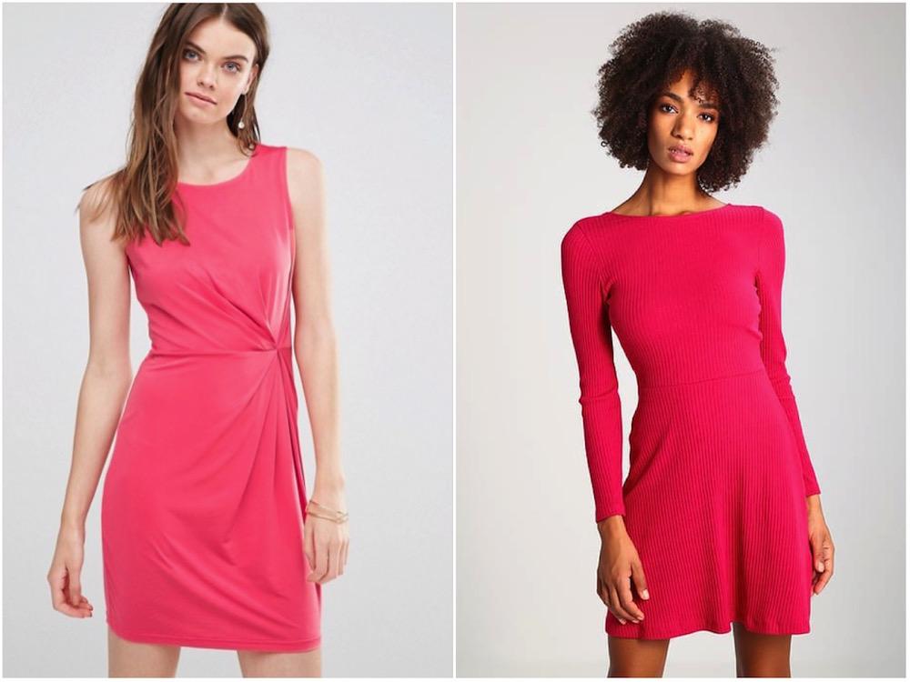 trend di primavera 2017 ecco cosa comprare: abiti rosa acceso