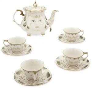 Tea Set Bella bestia DisneyStore limited Edition