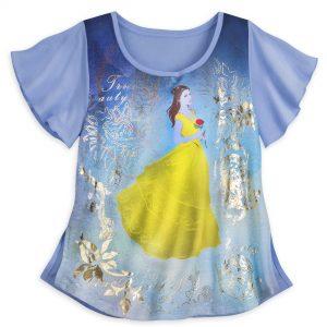 Tshirt donna Bella e Bestia DisneyStore