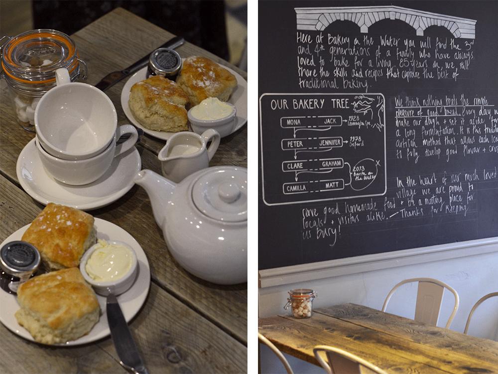 assaggiare il cream tea durante un viaggio nella campagna inglese