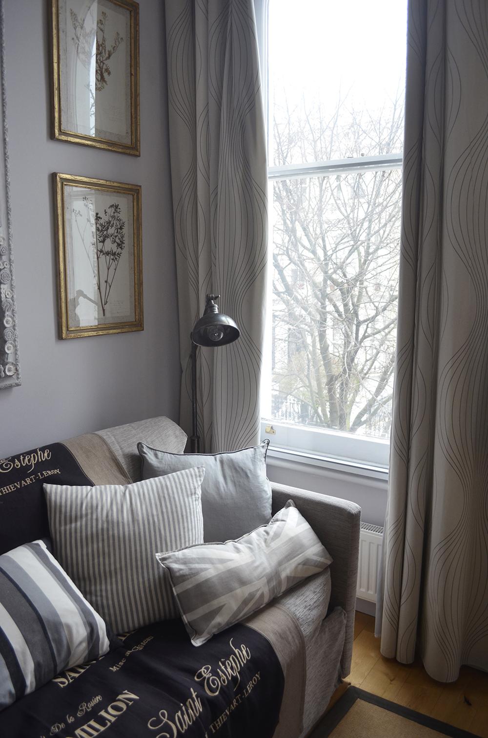 alloggiare in una casa londinese