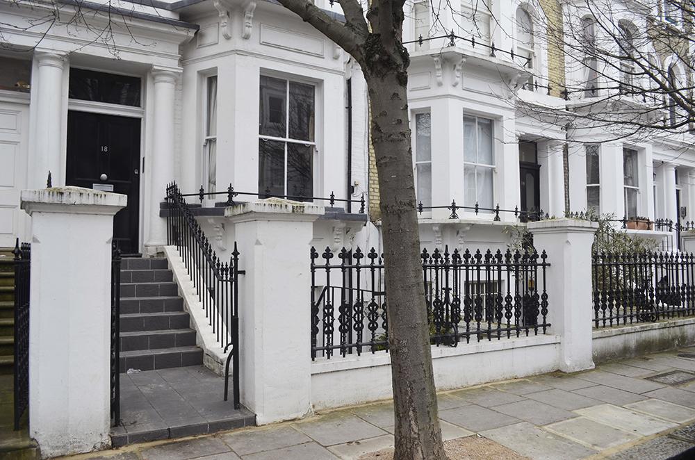 casa londinese per vacanze