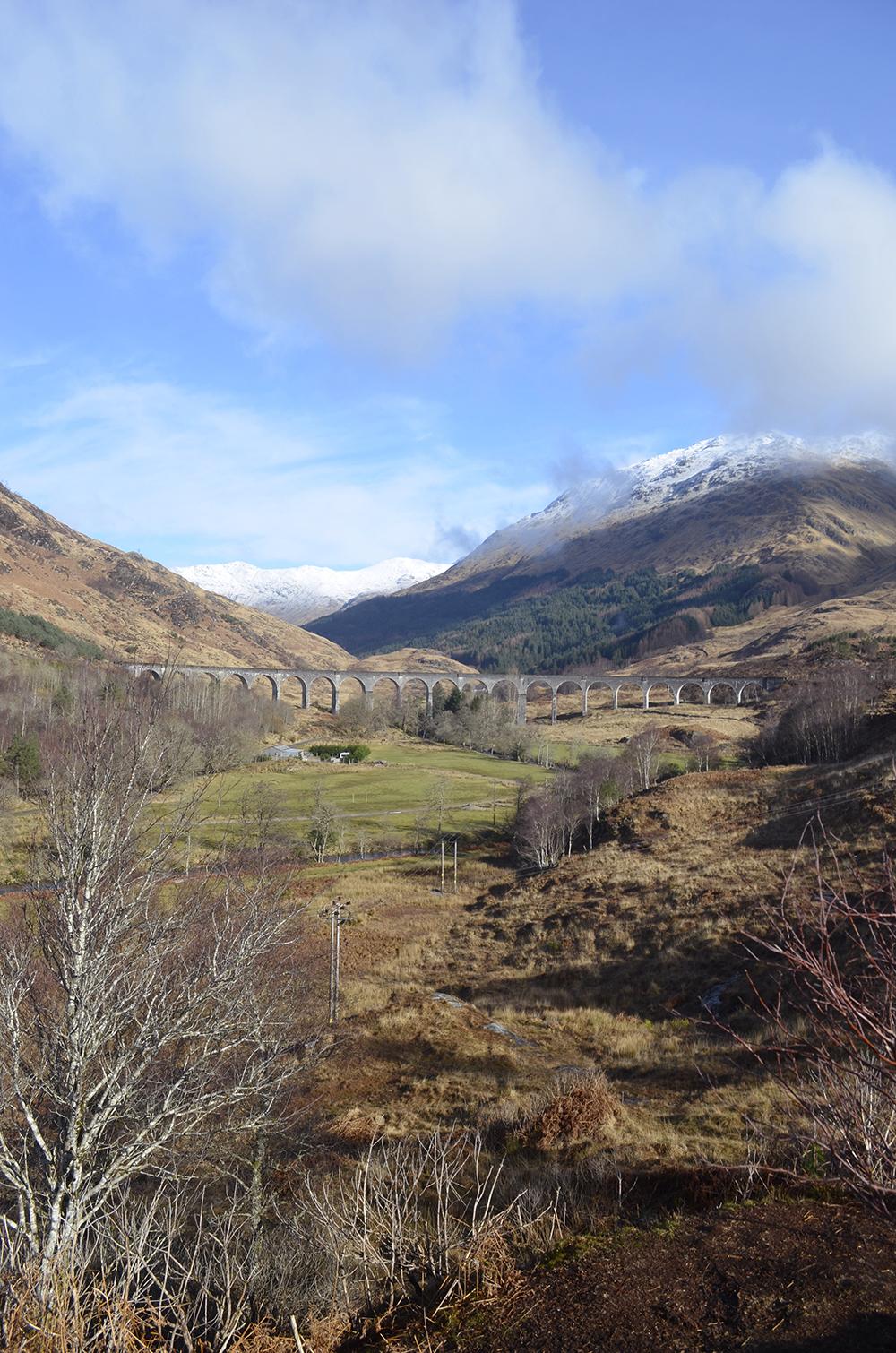 cosa vedere in scozia: glenfinnan viaduct di harry potter