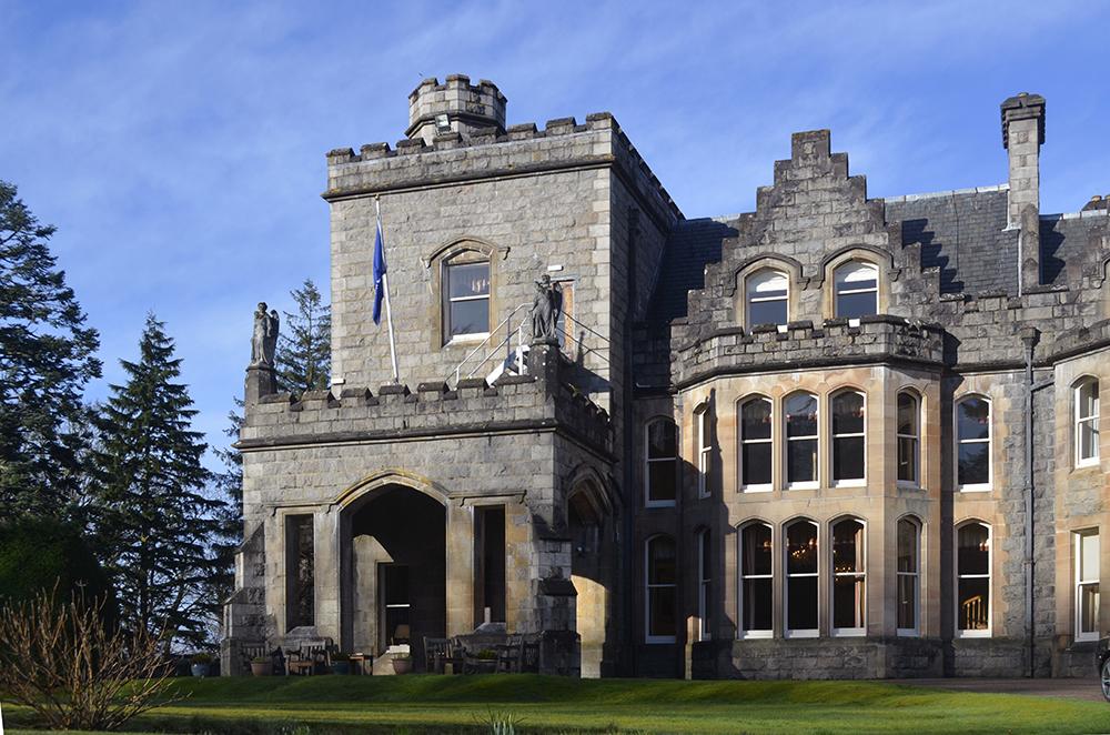 dormire nel castello di Inverlochy