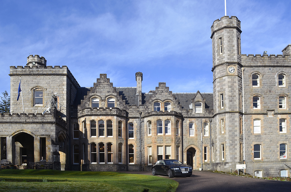 dormire in un castello: l'hotel di lusso in Scozia
