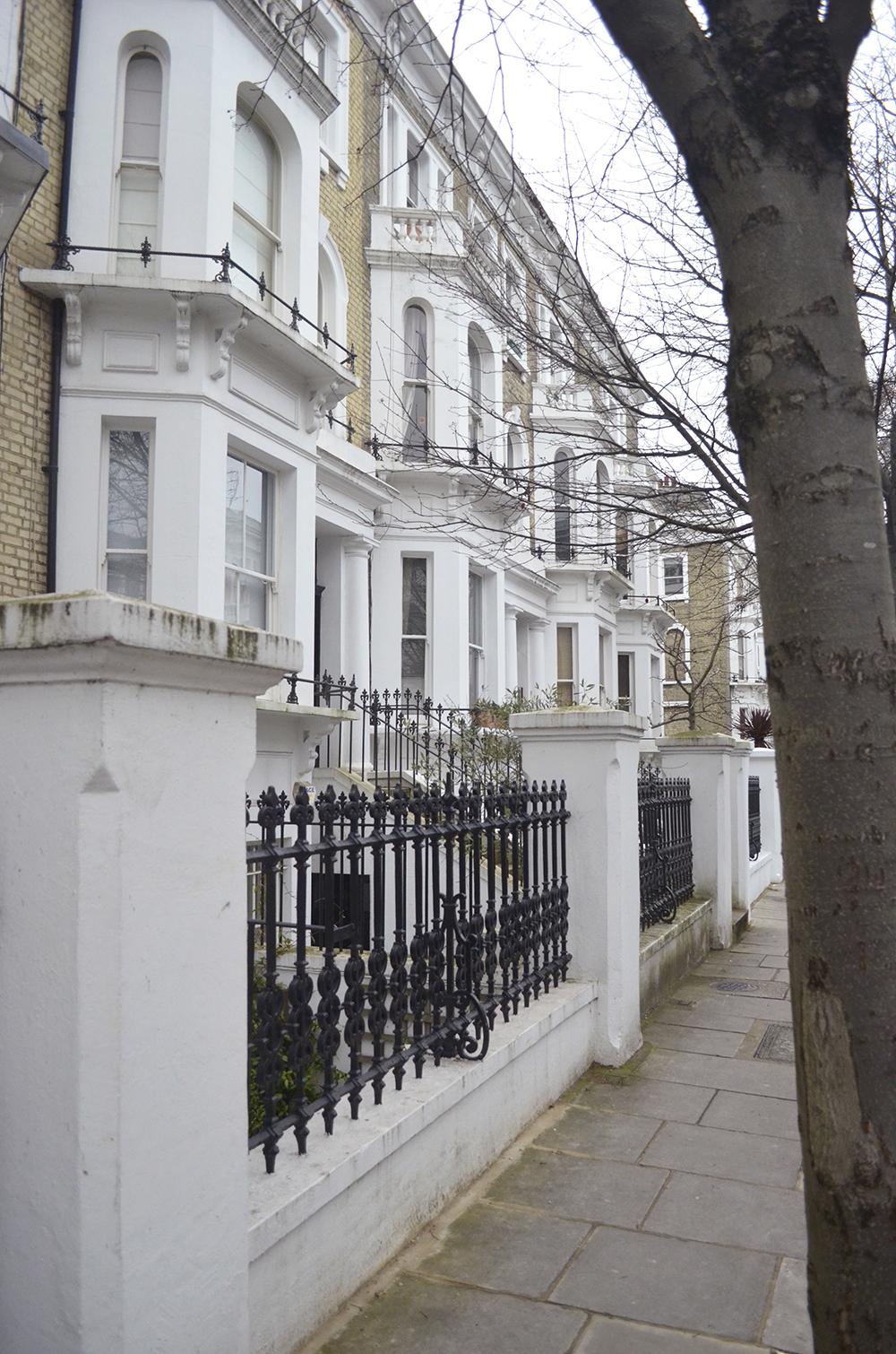 Una tipica casa londinese nel cuore della citt il mio for Case stile inglese interni
