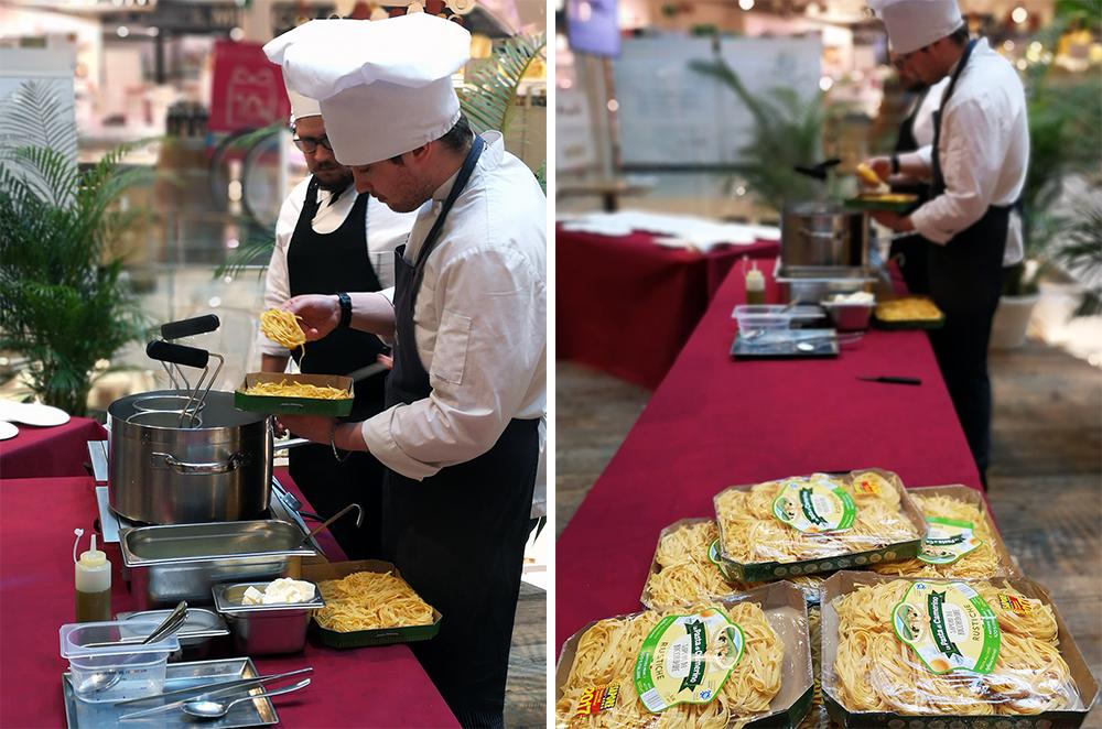 cooking show con la pasta di camerino da eataly milano