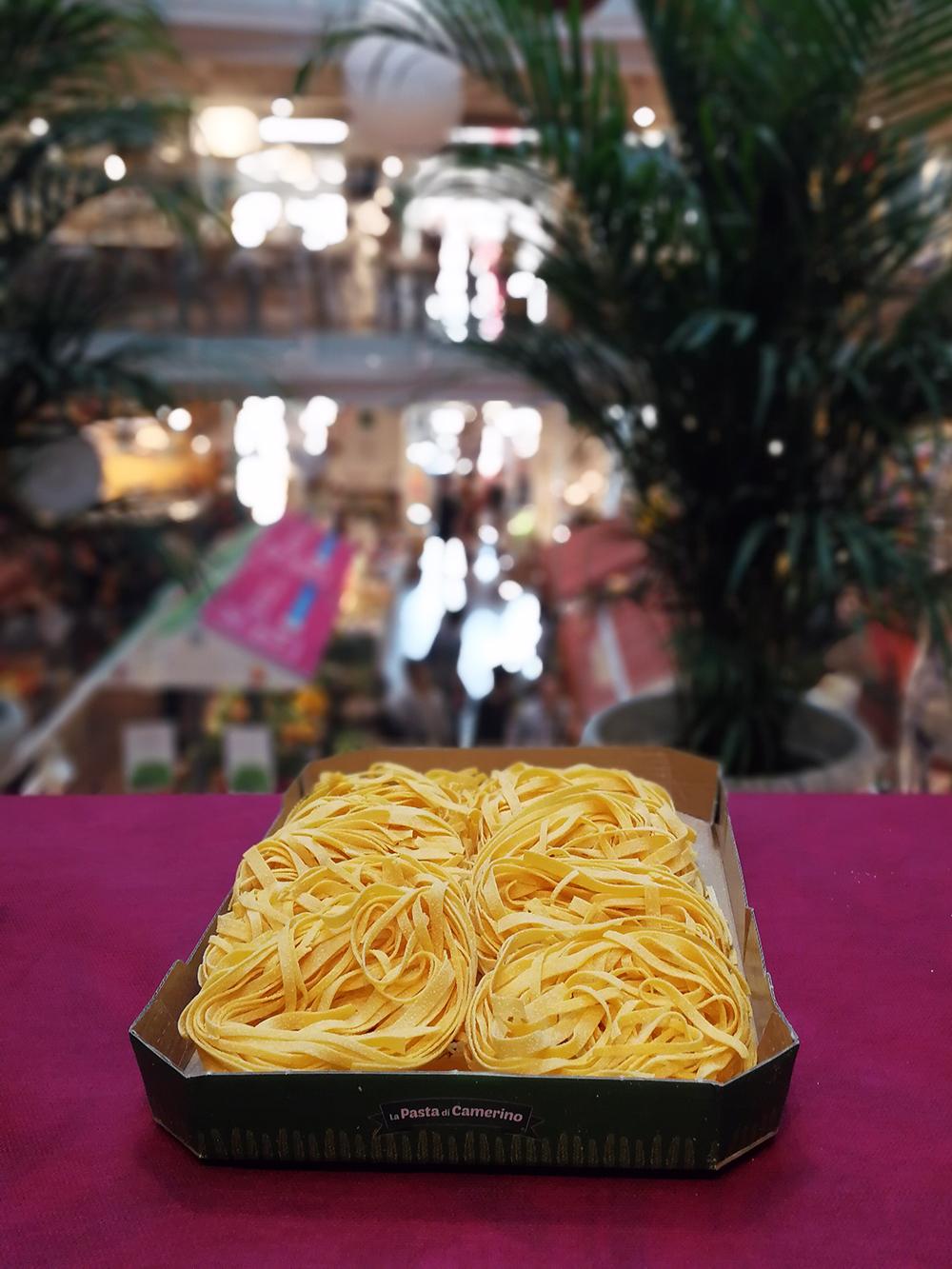 la pasta di camerino promuove eventi da eataly milano