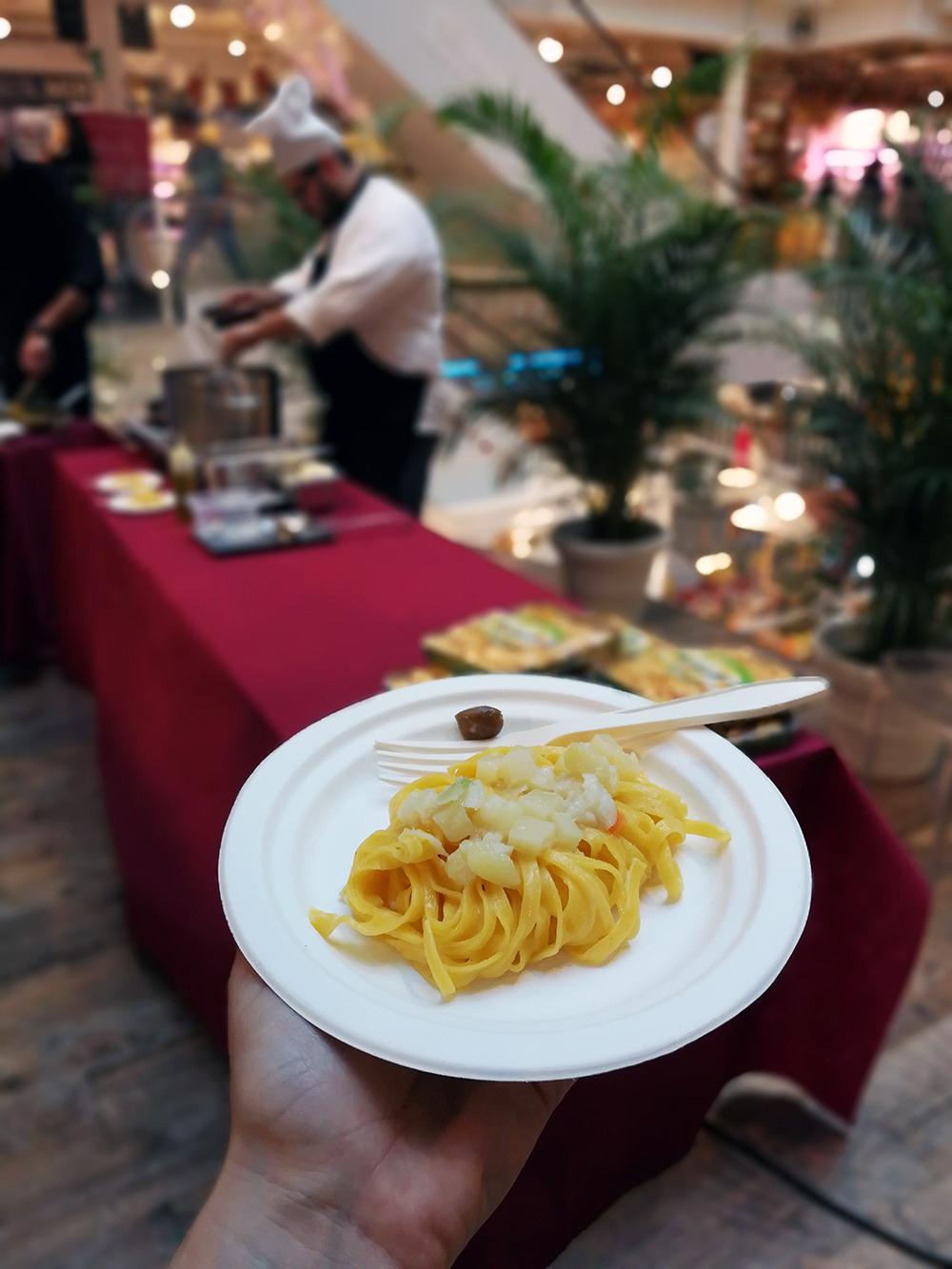 ricetta di andrea giuseppucci con la pasta di camerino