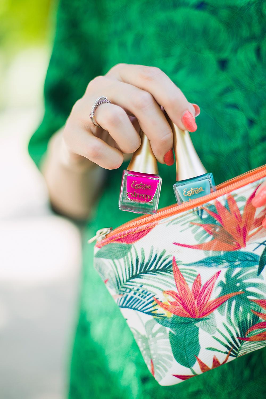 smalti per nail art estive estrosa tropical miami